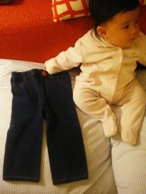 ジーパン(柄のズボン)